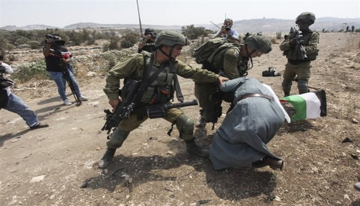 Siyonist Güçler Nablus'a Saldırdı