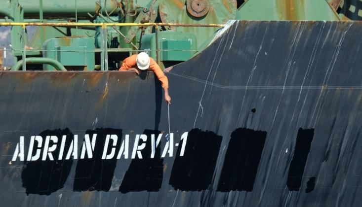 İran Tankeri Suriye Yakınlarında Takip Cihazını Kapattı