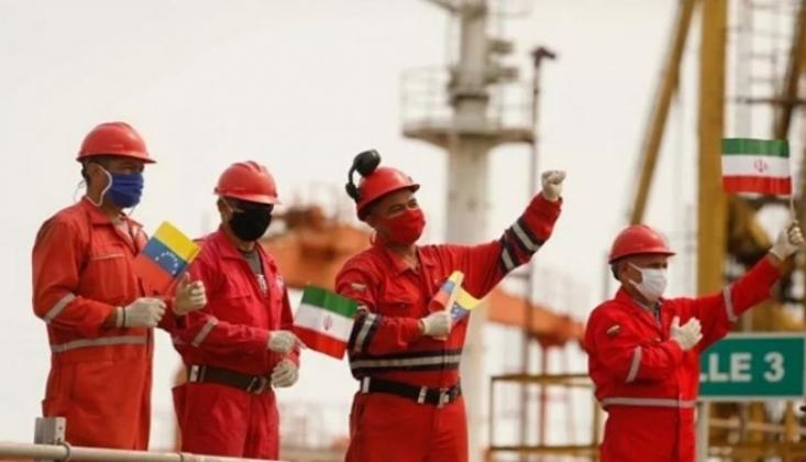 İran'ın Üçüncü Petrol Tankeri De Venezüella Kara Sularına Girdi