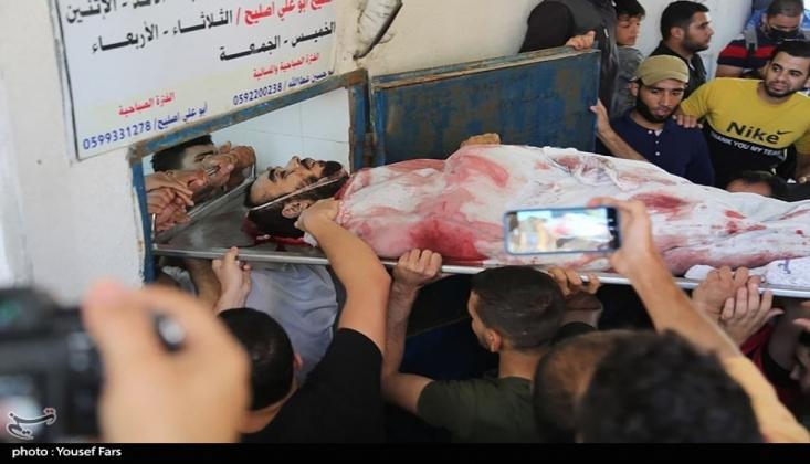 Gazze'de Şehit Sayısı Arttı
