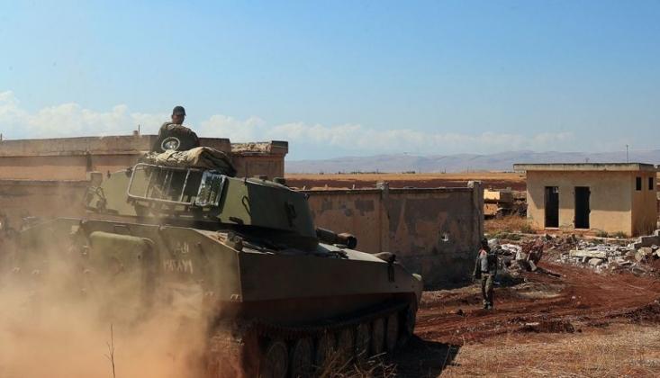Suriye Ordusunun İlerleyişi Sürüyor