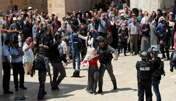 İşgalci İsrail'den Mescid-i Aksa'ya Baskın!