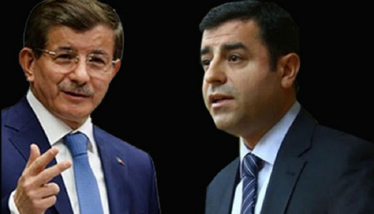 Davutoğlu, 6-8 Ekim Olayları Sırasında Demirtaş ile Yaptığı Telefon Görüşmesini Anlattı