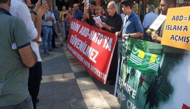 Malatya'da NaTO'ya ve Üslerine Hayır Ve Keşmir'e Destek Eylemi