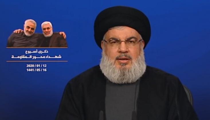 Nasrullah'tan Ayn-ul Esad Operasyonu Açıklaması