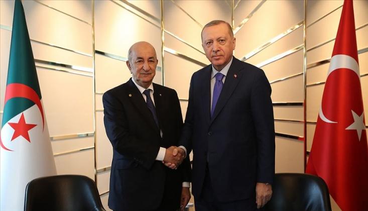 Cezayir Cumhurbaşkanı: Libya'da Türkiye İle Hareket Edeceğiz