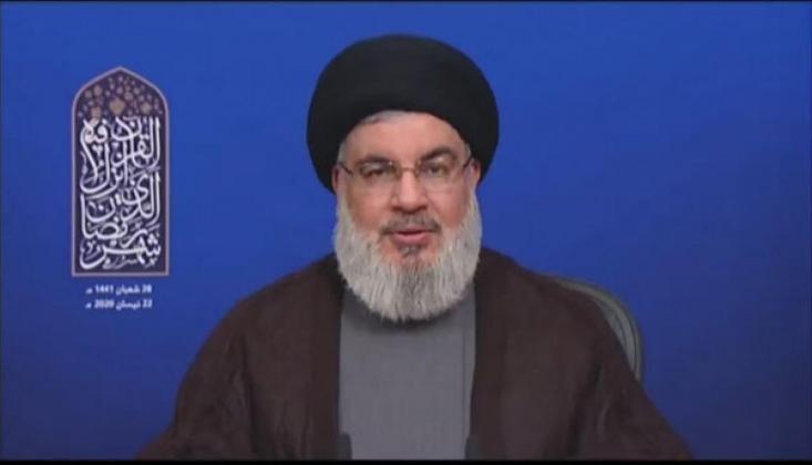Nasrallah'tan Direniş Cephesine Uygulanan Yaptırımlara Benzetme