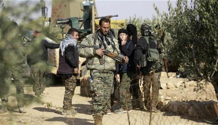 YPG'nin Türkiye Sınırı Yakınında Tünel Kazma Çalışmaları Hızlandı