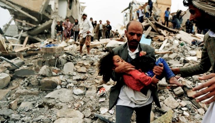 Yemen'de 12 Milyon 200 Bin Çocuk İnsani Yardımlara Muhtaç