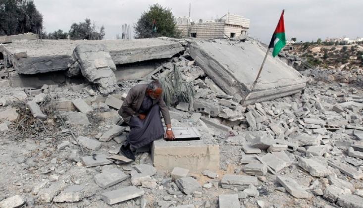 İnsan Hakları Gözetleme Örgütünden Filistinlilerin Evlerinin Yıkılmasına Tepki