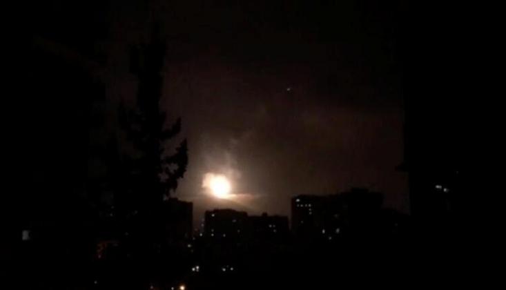 Suriye Hava Savunma Sistemi Teröristlerin Saldırılarını Püskürttü