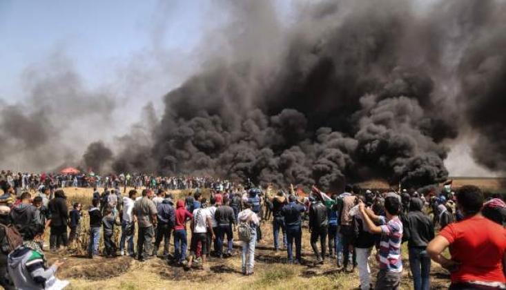 Siyonistler Şiddet Kullanarak Protestoları Bastırıyor