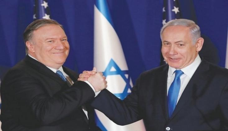 Pompeo, İsrail'e Moral Pompaladı