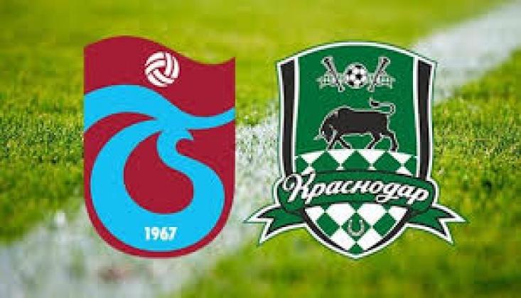 Krasnodar - Trabzonspor Muhtemel 11'ler