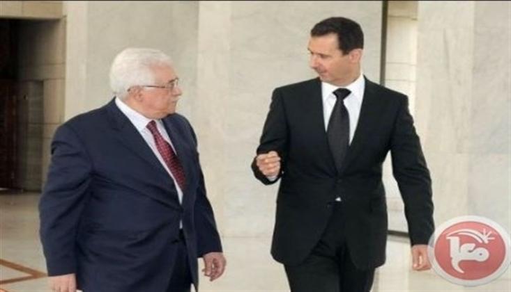 Ebu Mazen'in Beşşar Esad'a Özel Mesajı