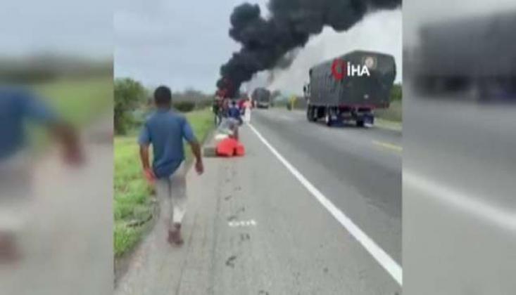 Petrol Tankeri Faciası: 7 Ölü, 40 Yaralı!