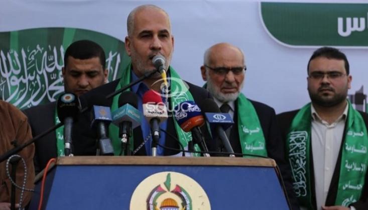 Hamas, İşgal Güçlerinin Hava Saldırısına Tepki Gösterdi