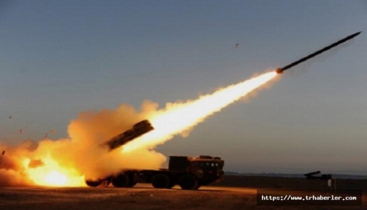 Suriye'de Teröristlerden Roketli Saldırı