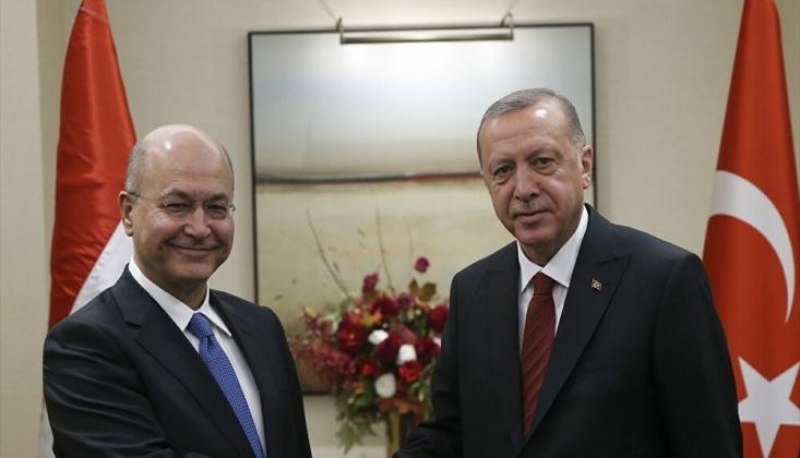 Erdoğan, Irak Cumhurbaşkanı İle Görüştü
