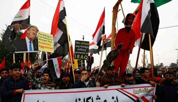 Bağdat'ta ABD Karşıtı Gösteri+FOTO