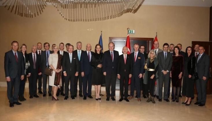 Kılıçdaroğlu, AB Büyükelçileri ile Bir Araya Geldi