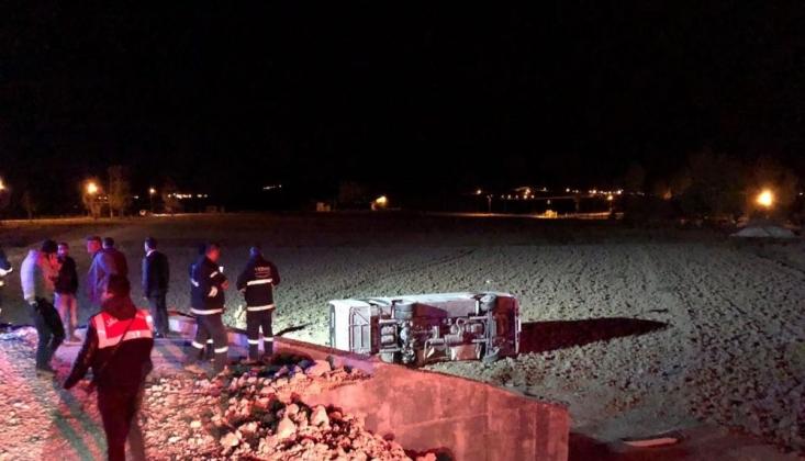 Van'da Askeri Araç Kaza Yaptı: 26 Yaralı