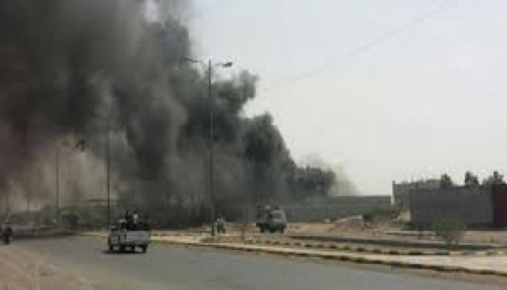 Suudi Koalisyonu Sa'da'ya Saldırdı