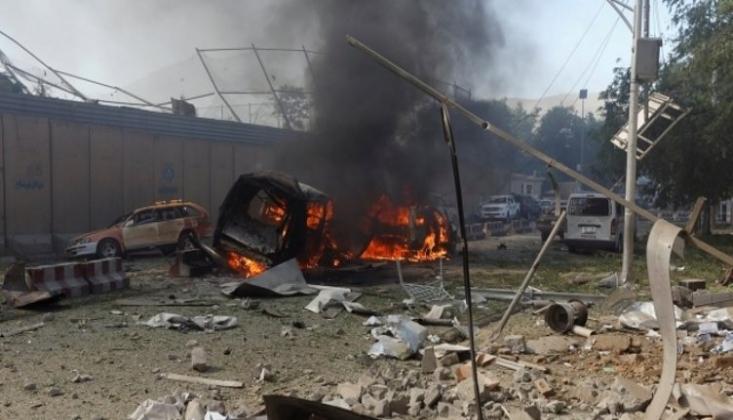 Afganistan'da ABD Üssü Yakınında Patlama: 50 Yaralı