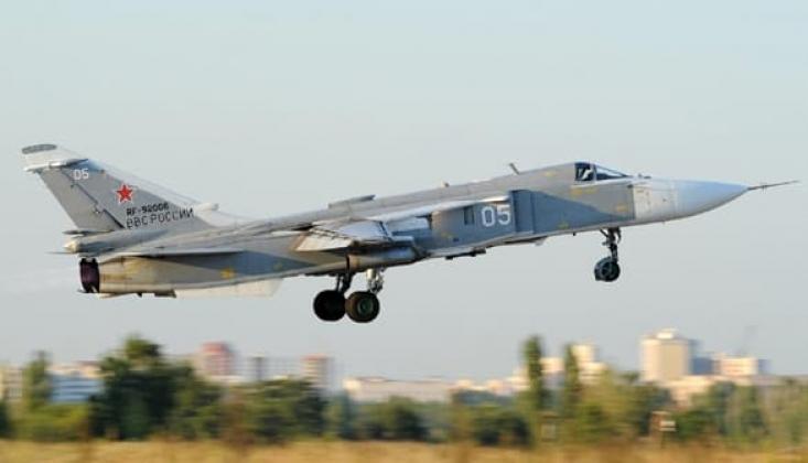 Rusya, Hazar Denizi Üzerinden Suriye'ye Savaş Uçağı Takviyesi Yaptı