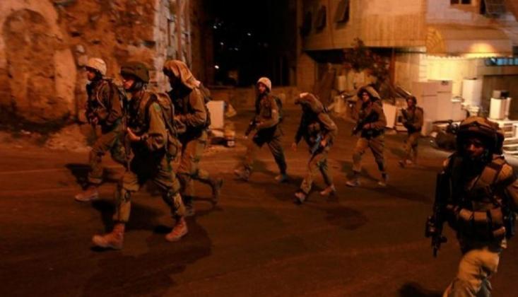 Siyonist Rejim Batı Yaka'ya Saldırdı