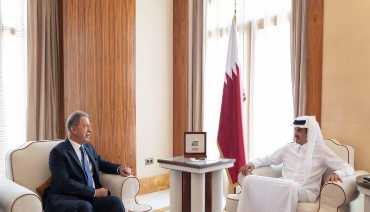 Millî Savunma Bakanı Akar, Katar'a Gitti