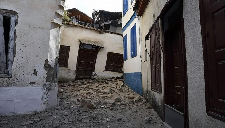 Deprem Yunanistan'ı da Vurdu! 2 Kişi Hayatını Kaybetti