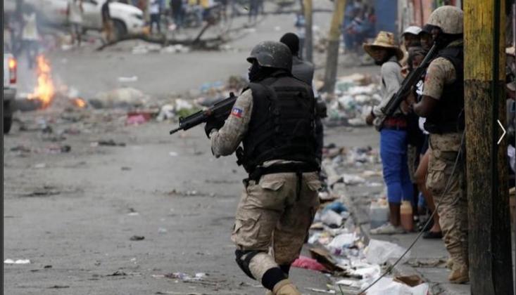 Haiti'de Silahlı Saldırı