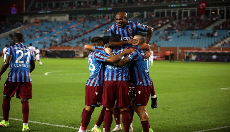 Trabzonspor 2'de 2 Yaptı!