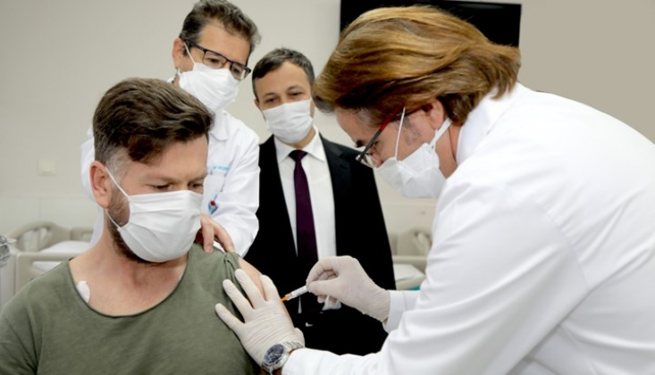 Yerli Kovid-19 Aşısının İkinci Doz Uygulaması Başladı