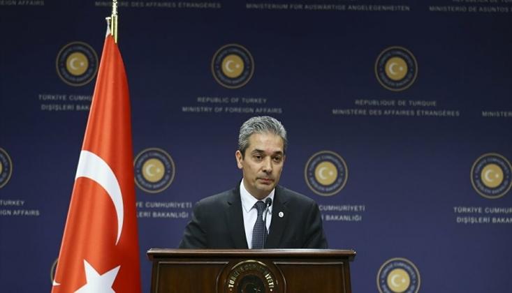 Türk Dışişleri'nden Mısır, Yunanistan, Kıbrıs, Fransa ve BAE'nin Ortak Bildirisine Tepki