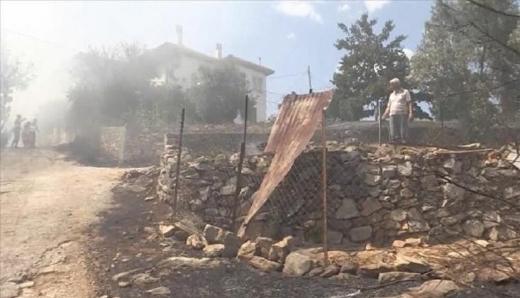 Muğla'da Yangın: Evler Tahliye Ediliyor