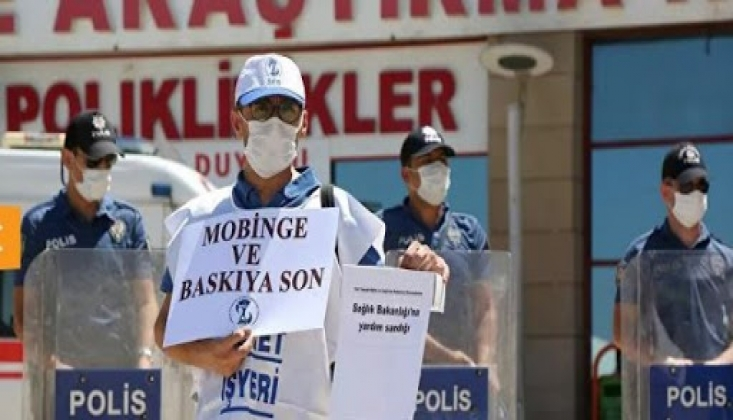 Sağlık Çalışanları Diyarbakır'da İş Bıraktı