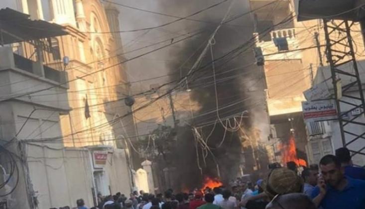 Şam'da Pazar Yerinde Bombalı Saldırı