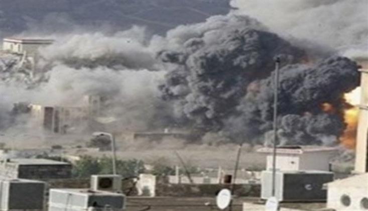 Suudi Koalisyonu Sivillere Saldırdı