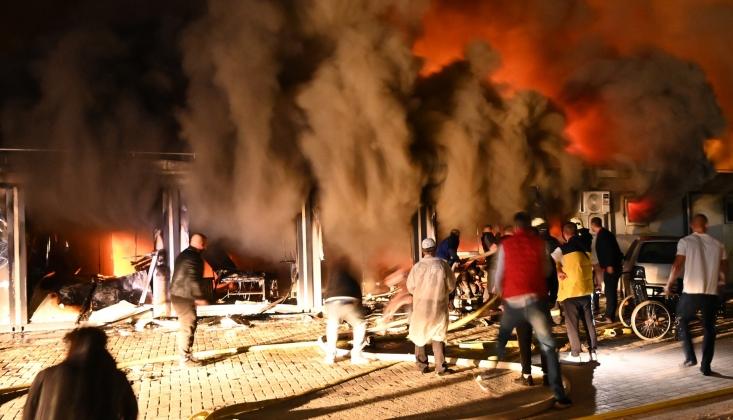 Kuzey Makedonya'da Hastanede Yangın