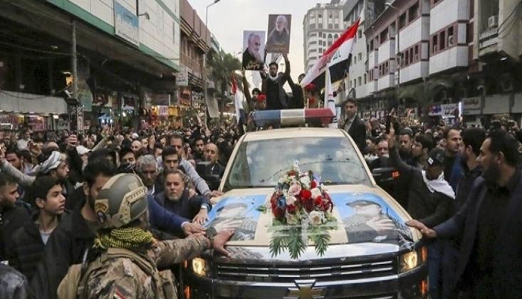 Şehit Süleymani'nin Cenaze Töreni Dünya Basınında