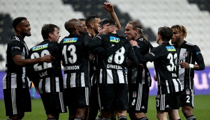 Beşiktaş, Başakşehir'i Tek Golle Geçti