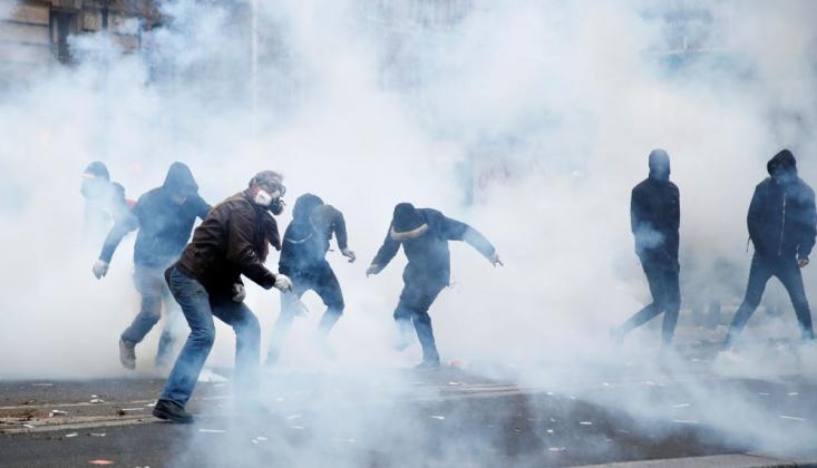 Fransa'da Grev Gerginliği