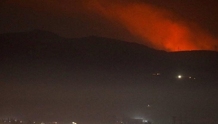İsrail Şam'a Saldırdı, Yolcu Uçağını Tehlikeye Attı