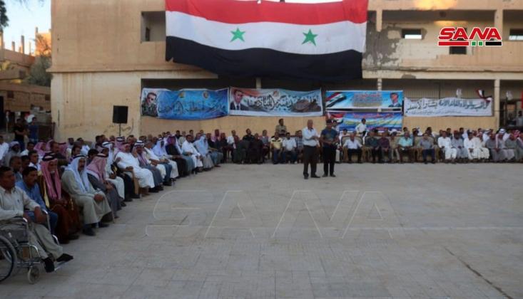 Aşiretler Başkan Beşar Esad'ı Kutladı