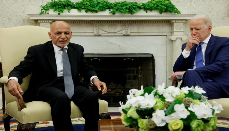 Afgan Liderler Beyaz Saray'da