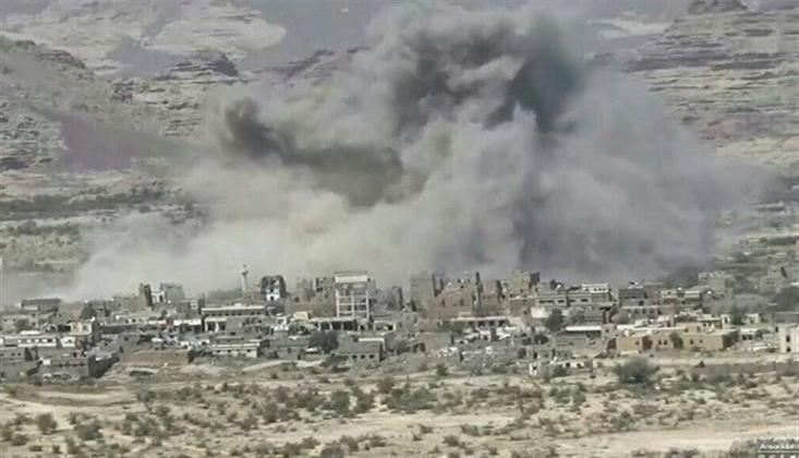 Suudi Koalisyonunun Yemen'e Yönelik Saldırıları Devam Ediyor