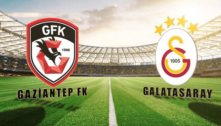 Gaziantep - Galatasaray Muhtemel 11'ler