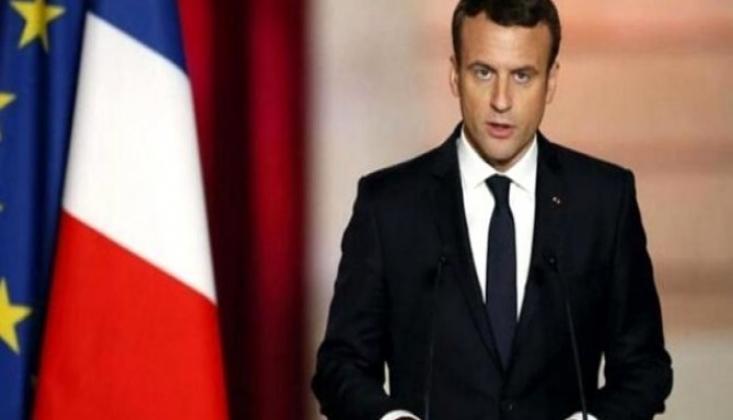 Macron'dan Türkiye'ye Tehdit